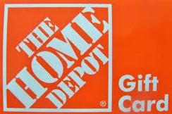$100 Home Depot Gift Car